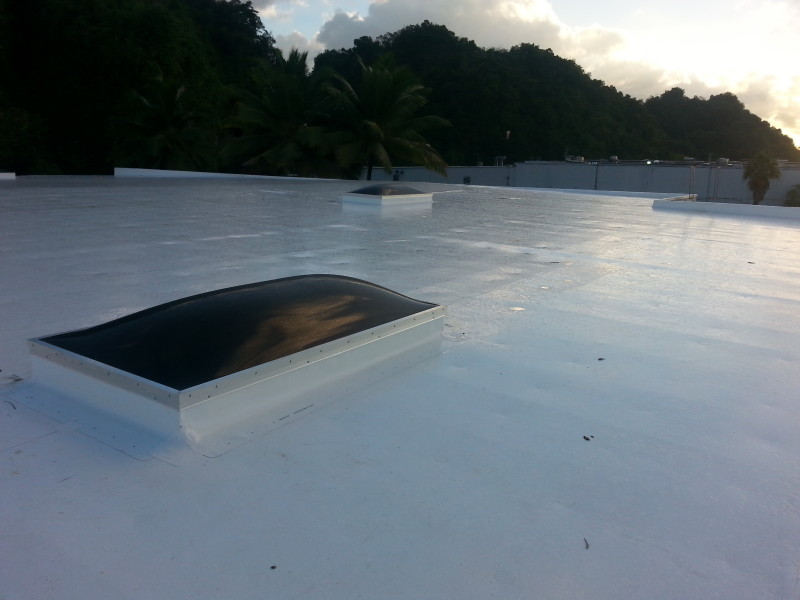 TPO Rhino-Bond TPO Installation in Puerto Rico