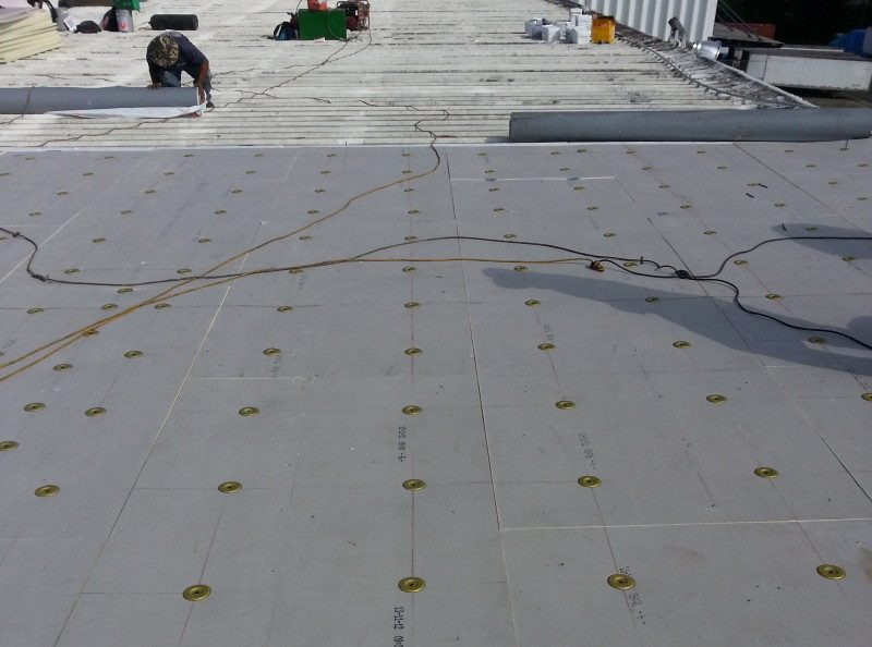 Retrofit - ISO M/A over metal roof